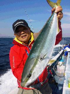 ワラサ&マダイ釣り…釣りに…