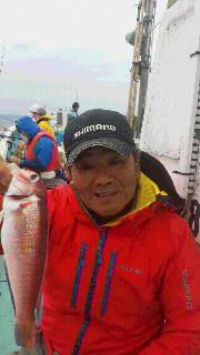 アマダイ釣りに…釣れた時の誘いは…