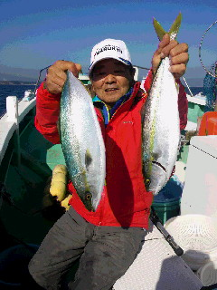 イナダ五目釣りに…