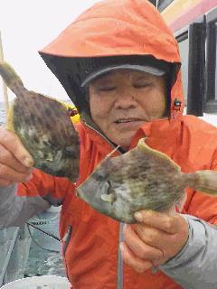 カワハギ釣りに…