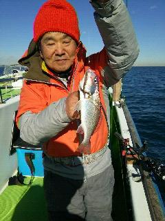 イシモチ釣りに…