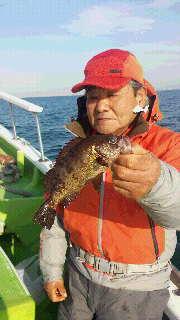 解禁のエビメバル釣りに…
