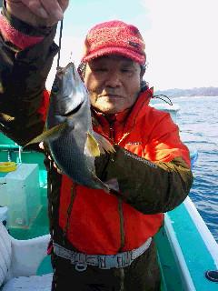 マダイ&イサキ釣りに…