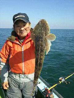 マゴチ釣りに…