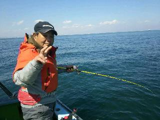 真鯛釣りに……