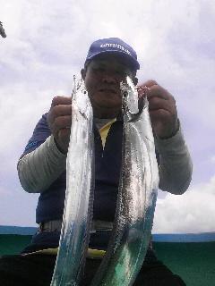 ロケのお手伝いに…タチウオ釣りに…