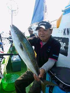 剣崎のワラサ釣り…