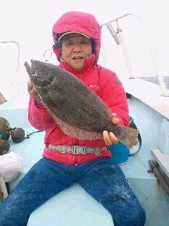 ヒラメ釣りに…