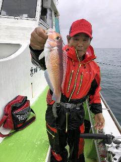 アカムツ釣りに…